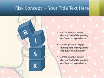 Woman gossip PowerPoint Templates - Slide 81