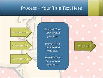 Woman gossip PowerPoint Templates - Slide 85