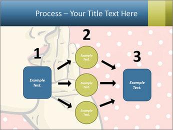 Woman gossip PowerPoint Templates - Slide 92