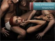 Sexy people PowerPoint Templates