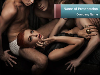 Sexy people PowerPoint Template - Slide 1