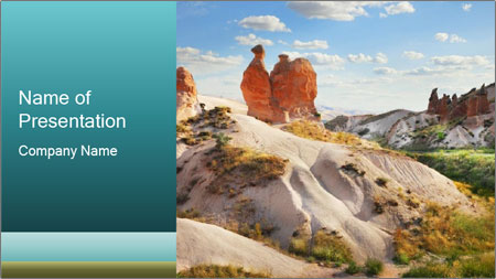 Cappadocia PowerPoint Template