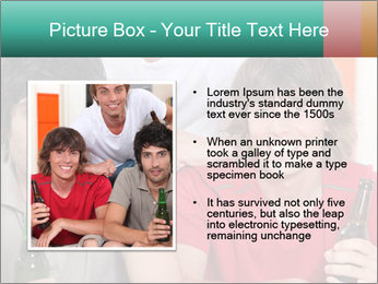 Boys drinking beer PowerPoint Template - Slide 13
