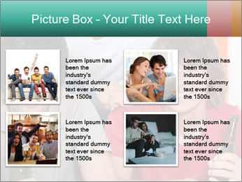 Boys drinking beer PowerPoint Template - Slide 14