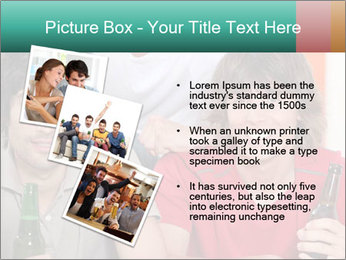 Boys drinking beer PowerPoint Template - Slide 17