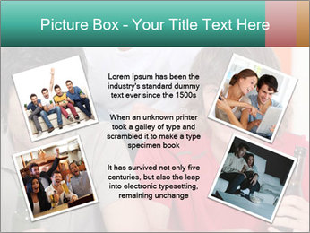 Boys drinking beer PowerPoint Template - Slide 24