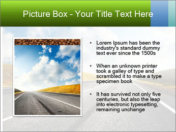 Countryside asphalt PowerPoint Templates - Slide 13