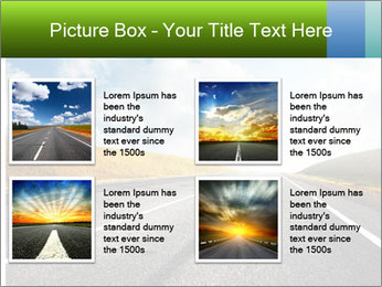 Countryside asphalt PowerPoint Templates - Slide 14
