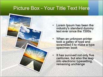 Countryside asphalt PowerPoint Templates - Slide 17