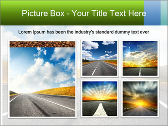 Countryside asphalt PowerPoint Templates - Slide 19