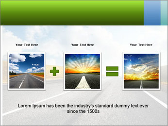 Countryside asphalt PowerPoint Templates - Slide 22
