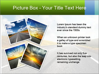 Countryside asphalt PowerPoint Templates - Slide 23