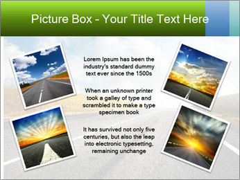 Countryside asphalt PowerPoint Template - Slide 24
