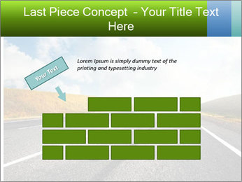 Countryside asphalt PowerPoint Templates - Slide 46