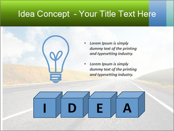 Countryside asphalt PowerPoint Templates - Slide 80