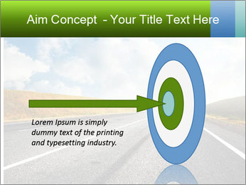 Countryside asphalt PowerPoint Template - Slide 83