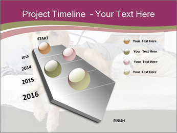 Golden retriever PowerPoint Template - Slide 26