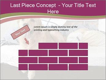 Golden retriever PowerPoint Template - Slide 46
