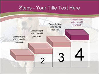 Golden retriever PowerPoint Templates - Slide 64