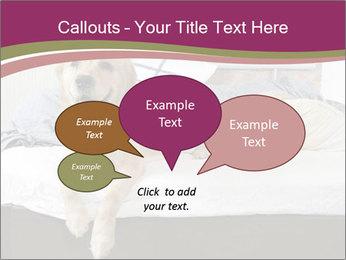 Golden retriever PowerPoint Template - Slide 73