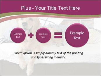 Golden retriever PowerPoint Templates - Slide 75