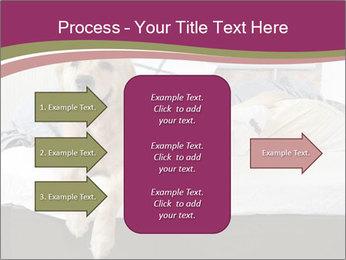 Golden retriever PowerPoint Template - Slide 85