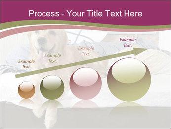 Golden retriever PowerPoint Template - Slide 87