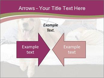 Golden retriever PowerPoint Template - Slide 90