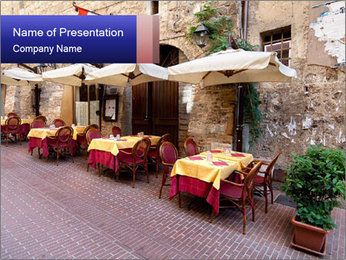 Siena PowerPoint Template - Slide 1