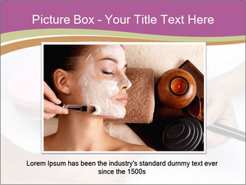 Pink facial mask PowerPoint Template - Slide 15