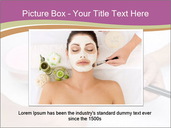 Pink facial mask PowerPoint Template - Slide 16