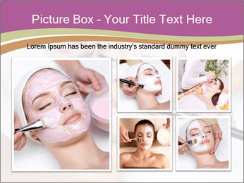 Pink facial mask PowerPoint Template - Slide 19