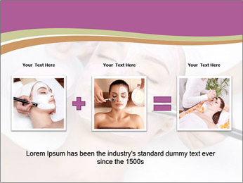 Pink facial mask PowerPoint Template - Slide 22