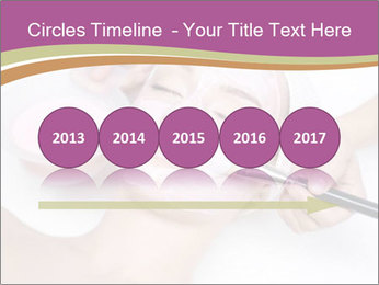 Pink facial mask PowerPoint Template - Slide 29