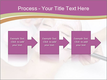 Pink facial mask PowerPoint Template - Slide 88