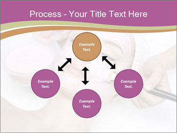 Pink facial mask PowerPoint Template - Slide 91