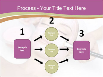 Pink facial mask PowerPoint Template - Slide 92