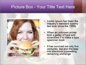 Hamburger PowerPoint Template - Slide 13