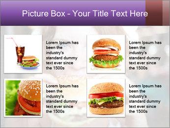 Hamburger PowerPoint Template - Slide 14