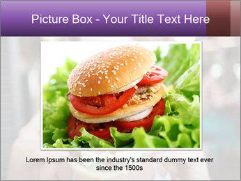Hamburger PowerPoint Template - Slide 15