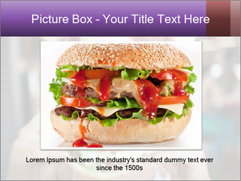 Hamburger PowerPoint Template - Slide 16