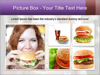 Hamburger PowerPoint Template - Slide 19