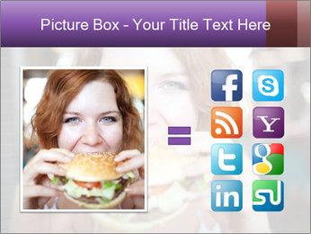 Hamburger PowerPoint Template - Slide 21