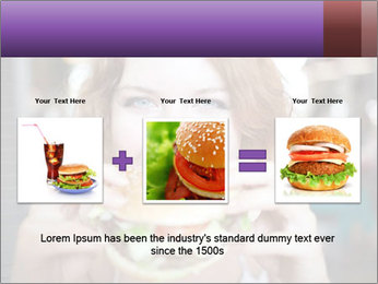 Hamburger PowerPoint Template - Slide 22