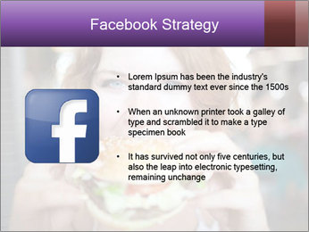 Hamburger PowerPoint Template - Slide 6