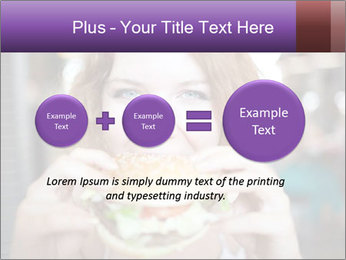 Hamburger PowerPoint Template - Slide 75