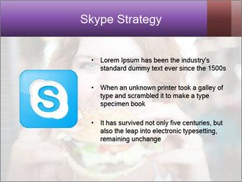 Hamburger PowerPoint Template - Slide 8