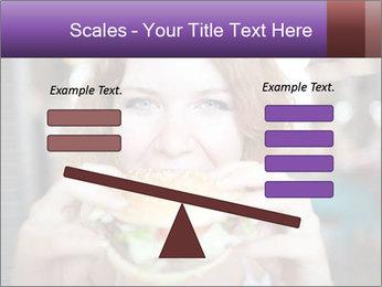 Hamburger PowerPoint Template - Slide 89