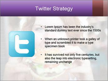 Hamburger PowerPoint Template - Slide 9