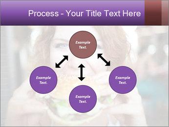 Hamburger PowerPoint Template - Slide 91